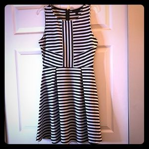 NWT!!! Striped Attention Dress